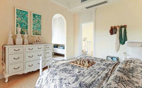 卧室细节田园风格装饰图片