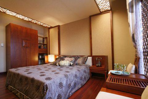 卧室细节东南亚风格装饰效果图