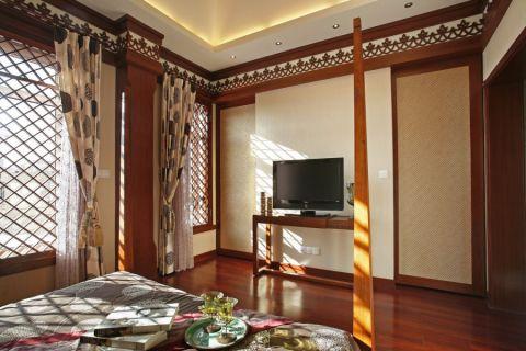 客厅细节东南亚风格装潢效果图
