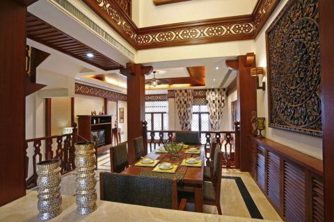 餐厅细节东南亚风格装修设计图片