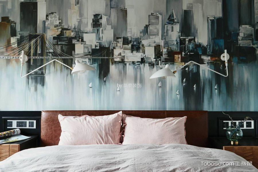 卧室粉色细节现代风格装潢效果图