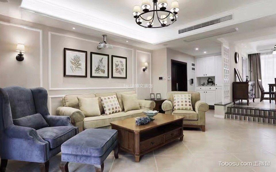 狮子城100平米现代简约风格二居室装修效果图