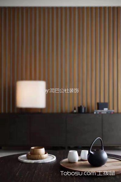 客厅咖啡色细节新中式风格装饰设计图片
