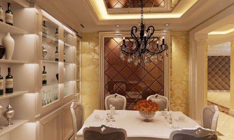 餐厅背景墙现代简约风格装饰图片
