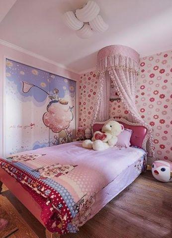 儿童房细节简约风格装饰效果图