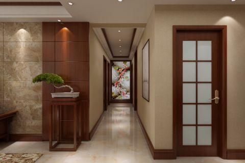 玄关走廊新中式风格装修设计图片