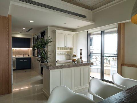 厨房厨房岛台简约风格装潢图片