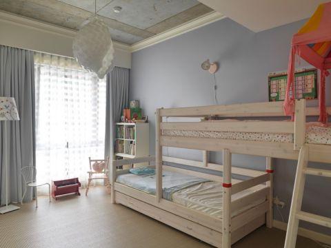 儿童房床简约风格装修设计图片