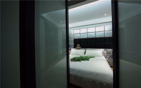 卧室推拉门现代简约风格装饰效果图