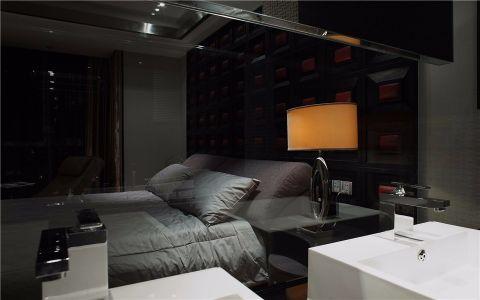 卧室隔断现代简约风格装潢效果图