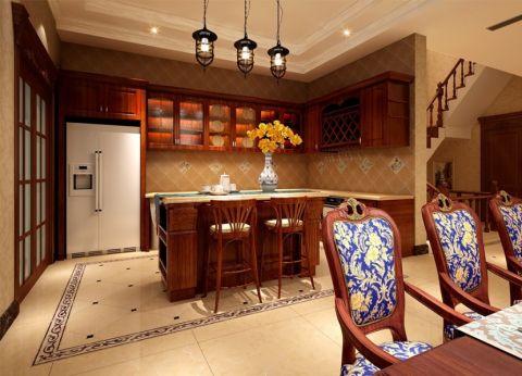 厨房橱柜古典风格装饰设计图片