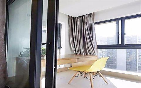阳台窗帘简约风格装饰效果图