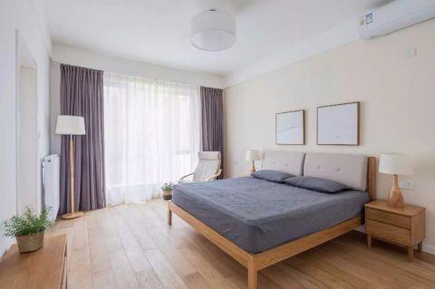 卧室窗帘日式风格装饰图片