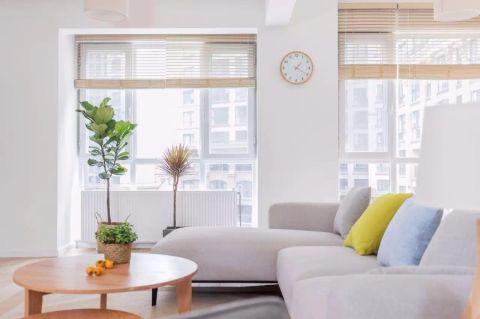 客厅沙发日式风格装修设计图片