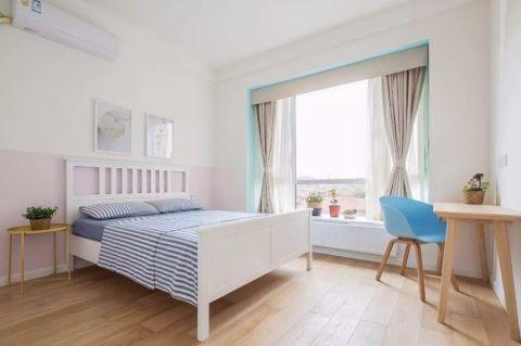 卧室飘窗日式风格装饰设计图片