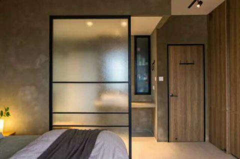 卧室隔断简单风格装修效果图