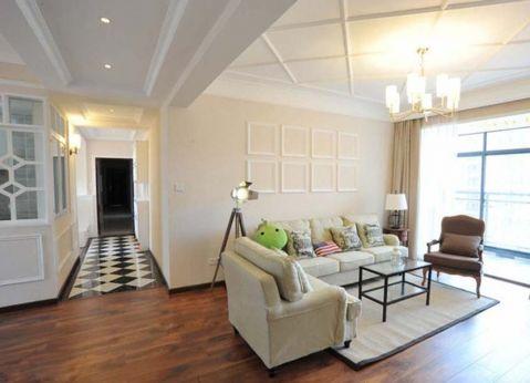 8万预算150平米四室两厅装修效果图
