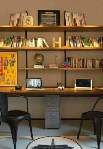 书房细节简单风格装修图片