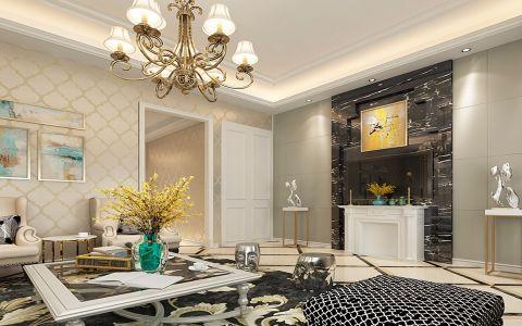 客厅细节后现代风格装潢设计图片