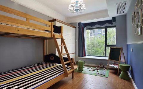 儿童房飘窗现代简约风格装潢效果图
