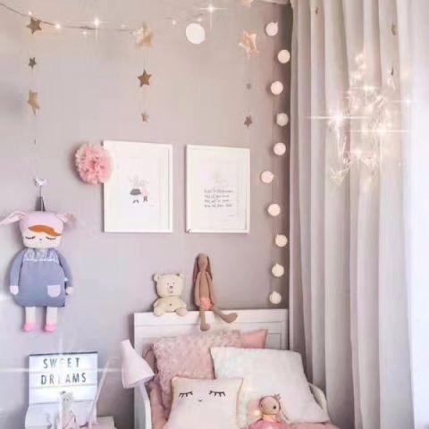 儿童房细节现代简约风格装潢设计图片