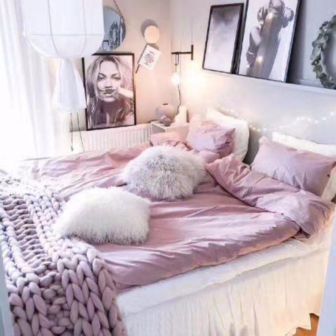 儿童房床现代简约风格效果图