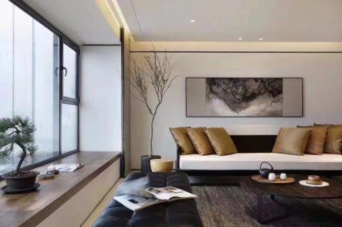 客厅飘窗新中式风格装修效果图