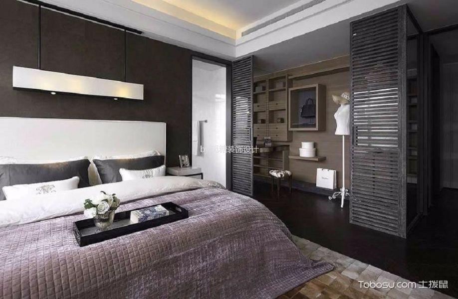 卧室米色细节现代简约风格装饰设计图片