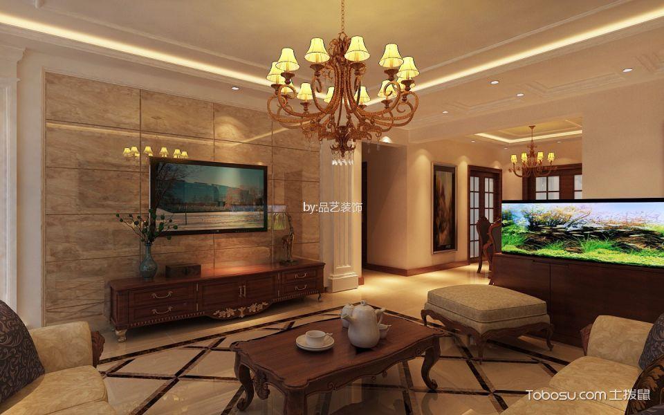 简欧风格155平米大户型室内装修效果图