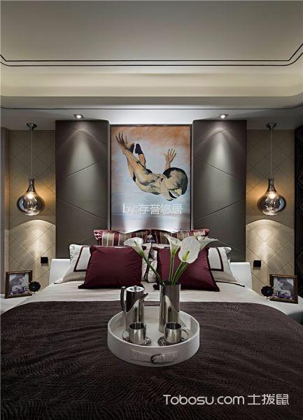 卧室白色细节现代简约风格装饰图片