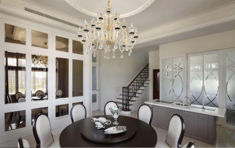 厨房餐桌欧式风格装潢效果图