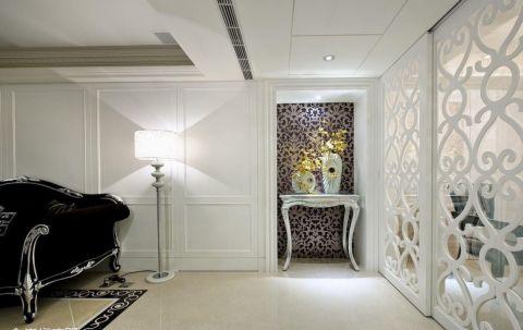 客厅推拉门欧式风格装饰图片