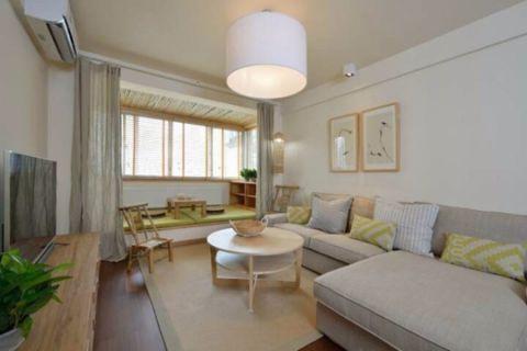 8.5万预算85平米两室两厅装修效果图