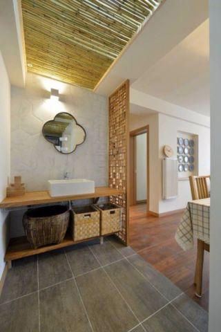 卫生间走廊简约风格装饰设计图片