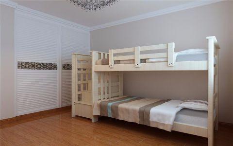 儿童房衣柜现代简约风格装潢图片