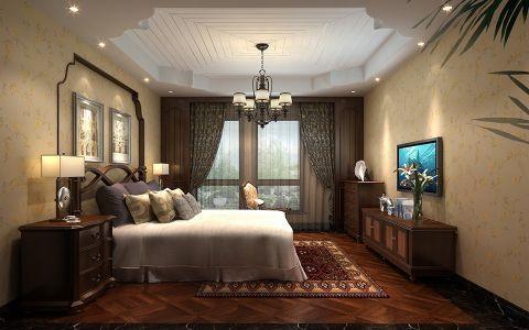 卧室电视柜美式风格装饰效果图