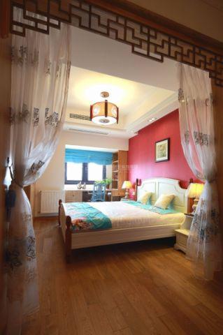 卧室地板砖混搭风格装饰设计图片