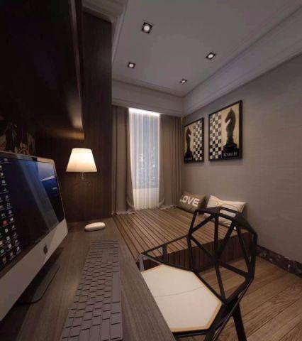 卧室榻榻米新中式风格装潢效果图