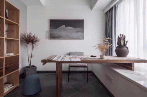 书房飘窗现代风格装饰设计图片