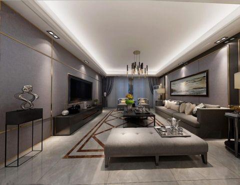 汇景新城现代风格四房装修效果图