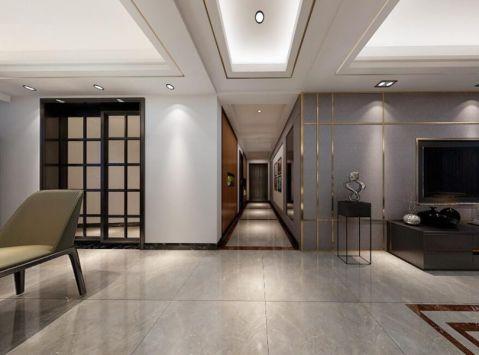 卫生间走廊现代风格装修设计图片