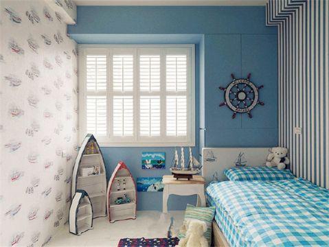 儿童房榻榻米田园风格装潢设计图片
