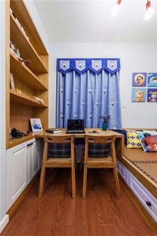 儿童房榻榻米北欧风格装修效果图