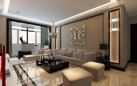 淮安私宅150平现代简约风格三居室装修效果图