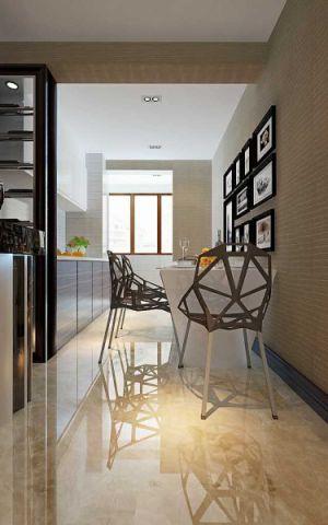 厨房照片墙现代简约风格装潢效果图