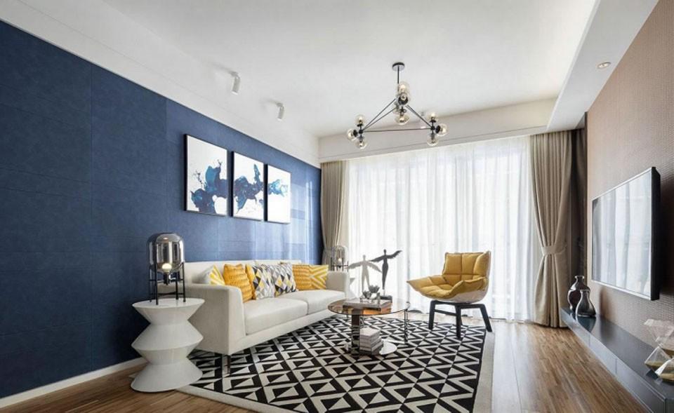 3室1卫2厅86平米美式风格
