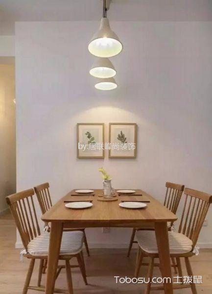 餐厅白色细节现代简约风格装潢图片