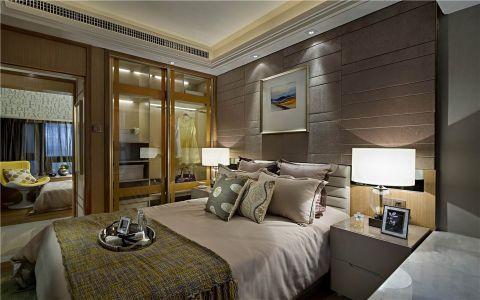 5万预算115平米三室两厅装修效果图