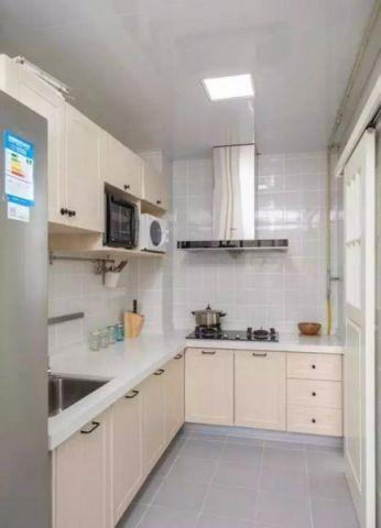 厨房橱柜现代简约风格装潢效果图