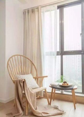 阳台窗帘现代简约风格装修设计图片